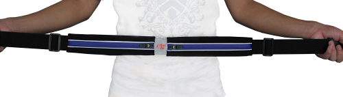 Above Elite Running Belt - Blue - Slim